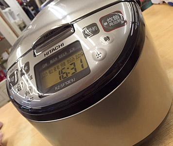 HITACHI 炊飯器 5.5合 RZ-SF10E9J 2014年式