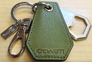 COACH キーリング ボトルオープナー 92985
